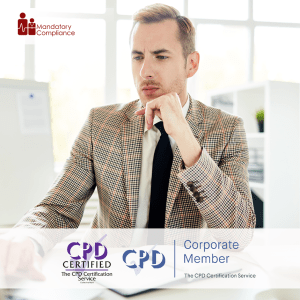 Disciplinary Policy - Online Training Course - CPD Accredited - Mandatory Compliance UK -