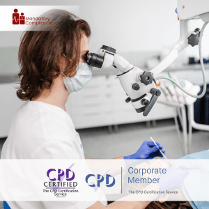 Periodontal Treatment Guidance - Online Training Course - CPD Accredited - Mandatory Compliance UK -