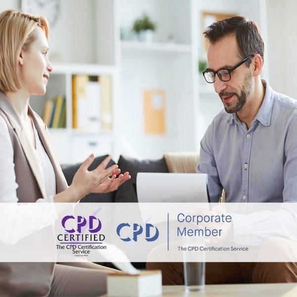 Persuasive Communication – Online Training Course – The Mandatory Training Group UK –