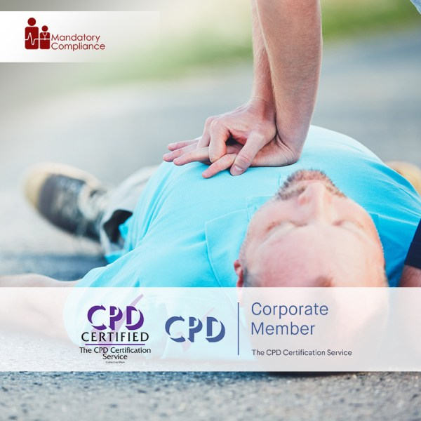 Basic Life Support – Train the Trainer Course + Trainer Pack – Online Training Course – CPD Accredited – Mandatory Compliance UK –