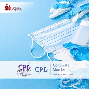 Infection Prevention and Control – Train the Trainer Course + Trainer Pack - Online Training Course - CPD Accredited - Mandatory Compliance UK -