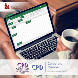Mastering Microsoft Excel 2019 - Advanced - Online Training Course - CPDUK Accredited - Mandatory Compliance UK -