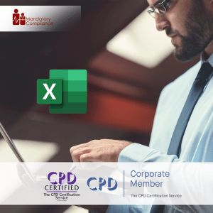 Mastering Microsoft Excel 2019 - Basics - Online Training Course - CPD Accredited - Mandatory Compliance UK -