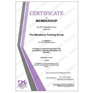 Understanding your Role - e-Trainer Pack - Online CPDUK Accredited Certificate - Mandatory Compliance UK -