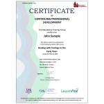 Dealing with Feelings in the Early Years – E-Learning Course – Mandatory Compliance UK –