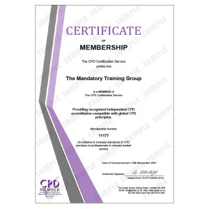 Donning and Doffing PPE for Care Workers - E-Learning Course - CDPUK Accredited - Mandatory Compliance UK -
