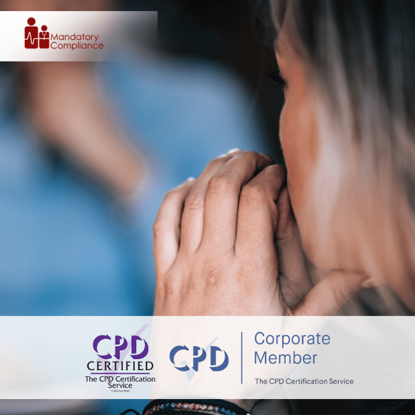 Understand the Importance of Mental Health in the Workplace – Online Training Course – CPD Accredited – Mandatory Compliance UK –