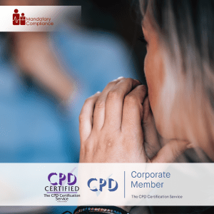 Understand the Importance of Mental Health in the Workplace - Online Training Course - CPD Accredited - Mandatory Compliance UK -