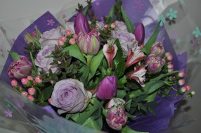 Hand-tied Vibrant Violet