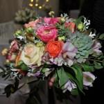 Bridesmaid's Hand-tied flowers