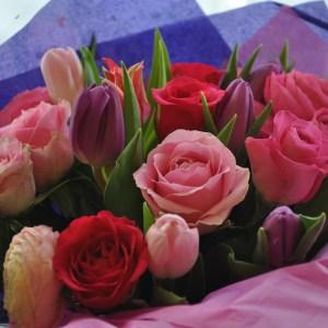 Hand-tied Sympathy Bouquet