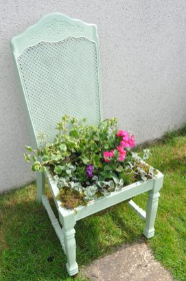 Green Plant Chair