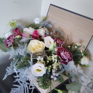 Christmas Flower Box