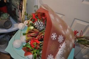 Christmas Hand-tied Flowers