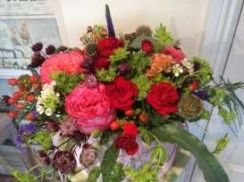 Flower Hat Box