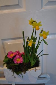 Mother's Day Wheelbarrow Planter