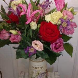 Romantic Flower Jug