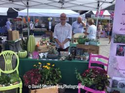Matt at the Tavistock Food and Craft market