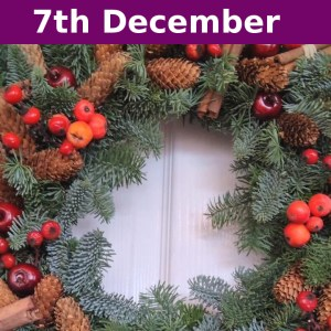 wreath making event