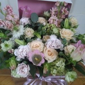 Summer Pastel Flower Box
