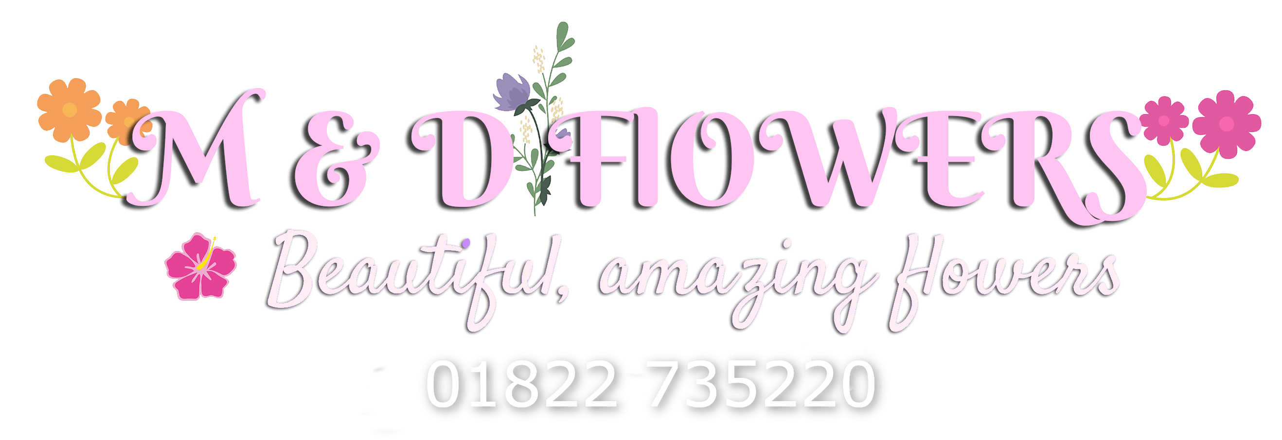 M & D Flowers Yelverton logo