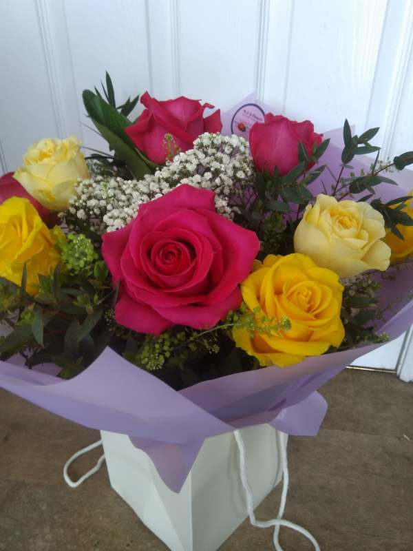 Mixed Rose aqua pack