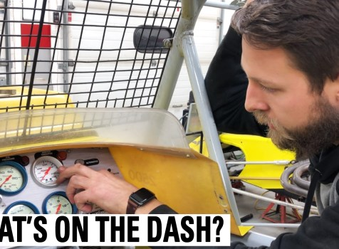 What's On The Dash Of A Dirt Modified?