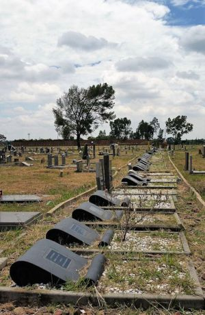 Sharpeville graves