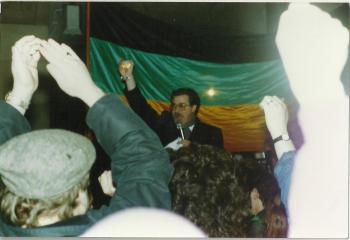 Brian Filling, Nelson Mandela Place 11 Feb 1990