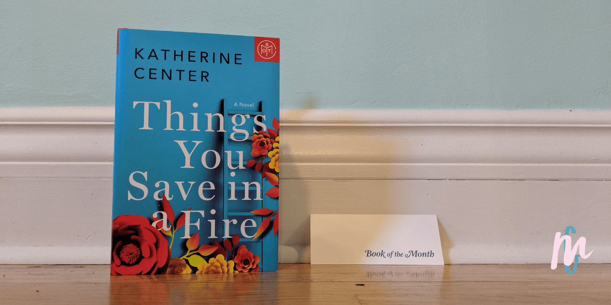 Book Review – Things you Save in a Fire