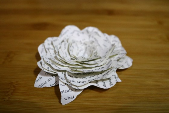 Miniature Book Art Using Upcycled Book Pages