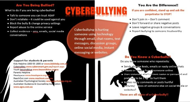 Week 11 – Cyberbullying Teaching In A Digital World