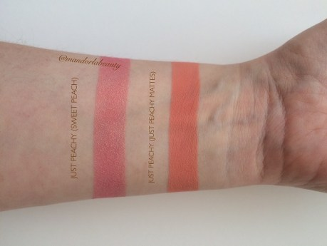 swatch just peachy