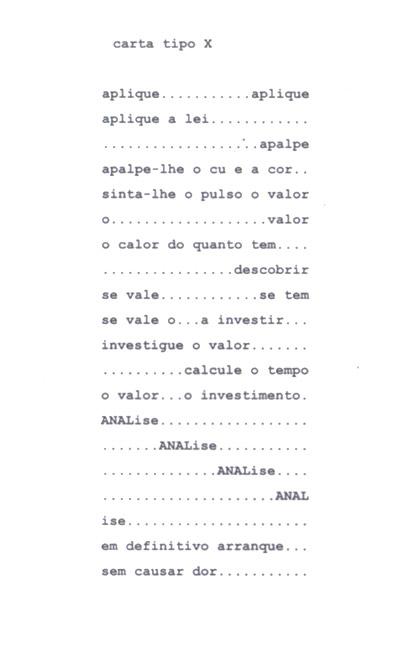 a poesia experimental portuguesa em acto dramático (3/3)