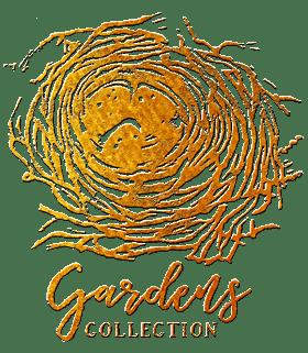 Gardens Collection gold brandmark