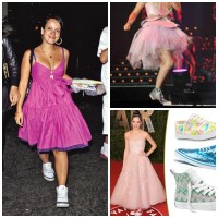Prom Dress And Converse