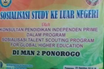 Sosialisasi Studi ke Luar Negeri
