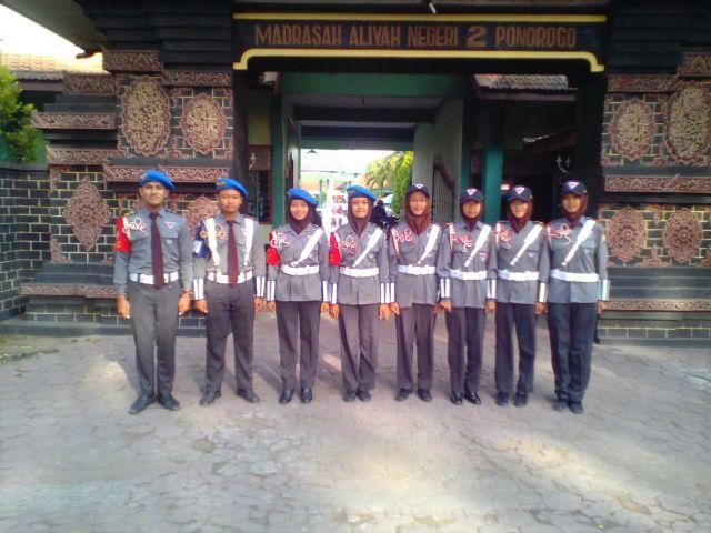 Outbond Taruna PKS (Patroli Keamanan Sekolah) MAN 2 Ponorogo