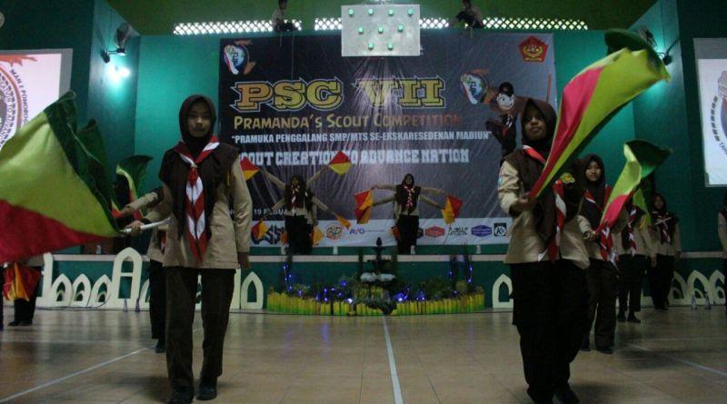Antusiasme Peserta PRAMANDA SCOUT COMPETITION VII (PSC) 2017