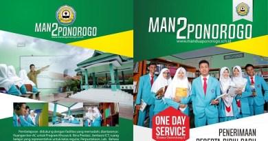 Informasi PPDB MAN 2 Ponorogo 2017/2018