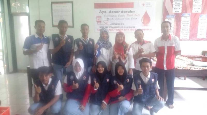 Donor Darah PMR Wira MAN 2 Ponorogo