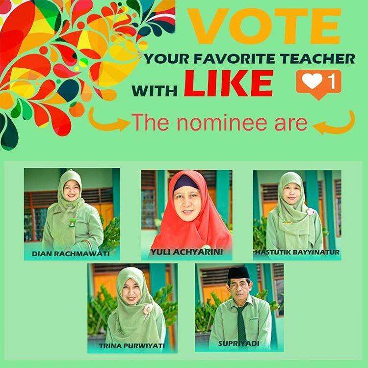Vote for Favorite Teacher DESTALITY Version