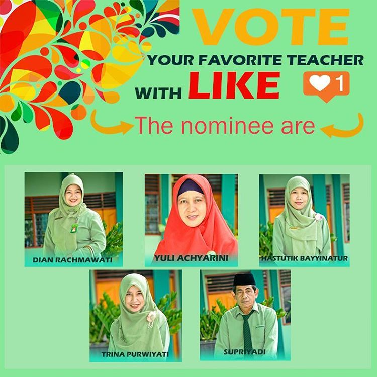 Vote for Favorite Teacher DESTALITY Version