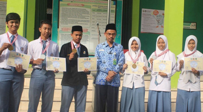 Prestasi MAN 2 Ponorogo pada Kejuaraan Taekwondo Antar Pelajar Se-Jawa Timur