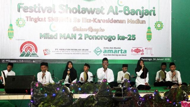 Festival Banjari Dalam Rangka Milad MAN 2 Ponorogo
