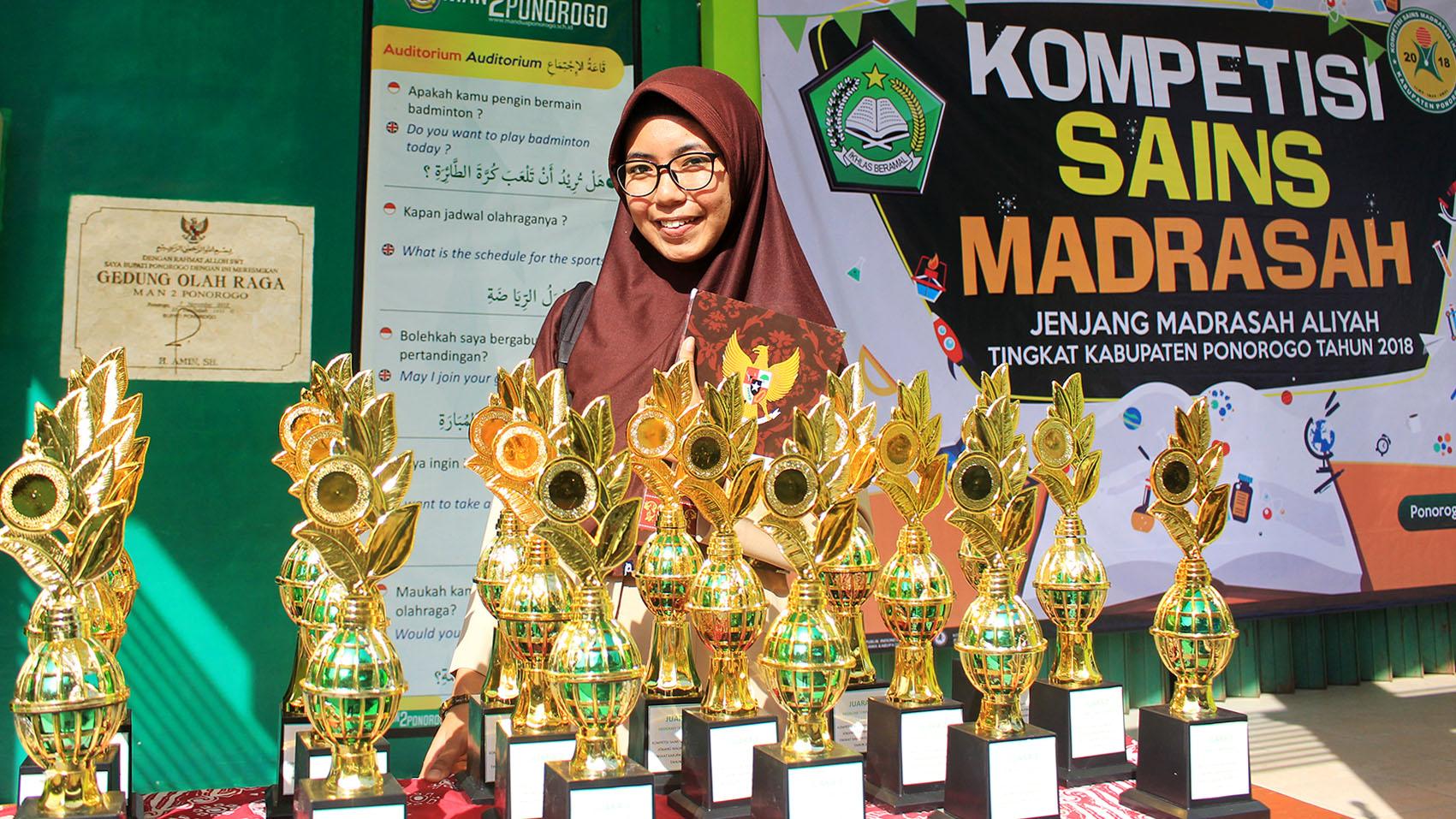 Perolehan Juara dalam KSM Tingkat Kab. Ponorogo