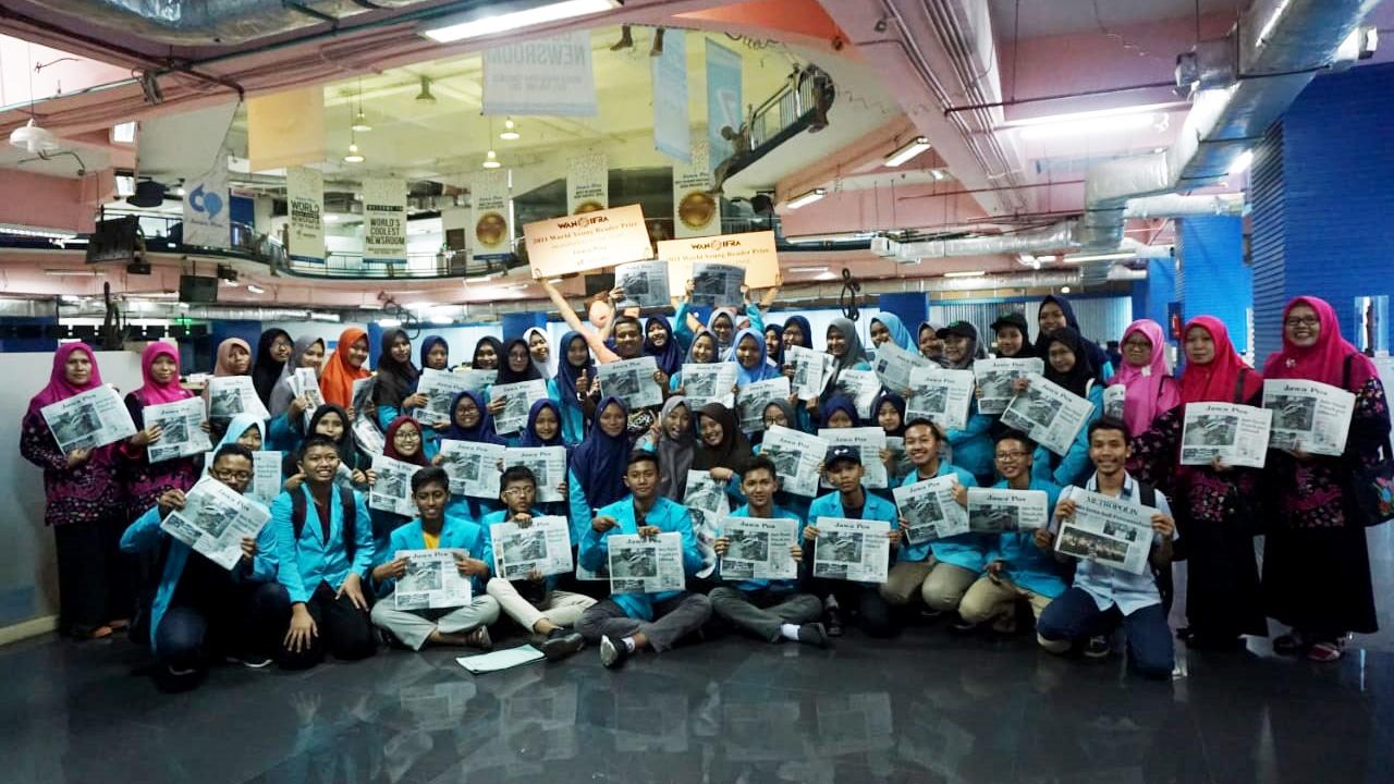 Kunjungan Belajar ke Jawa Pos Surabaya