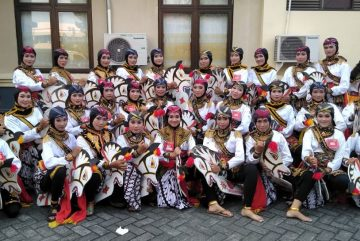 Semarak Gebyar 2019 Penari Jathil Kabupaten Ponorogo