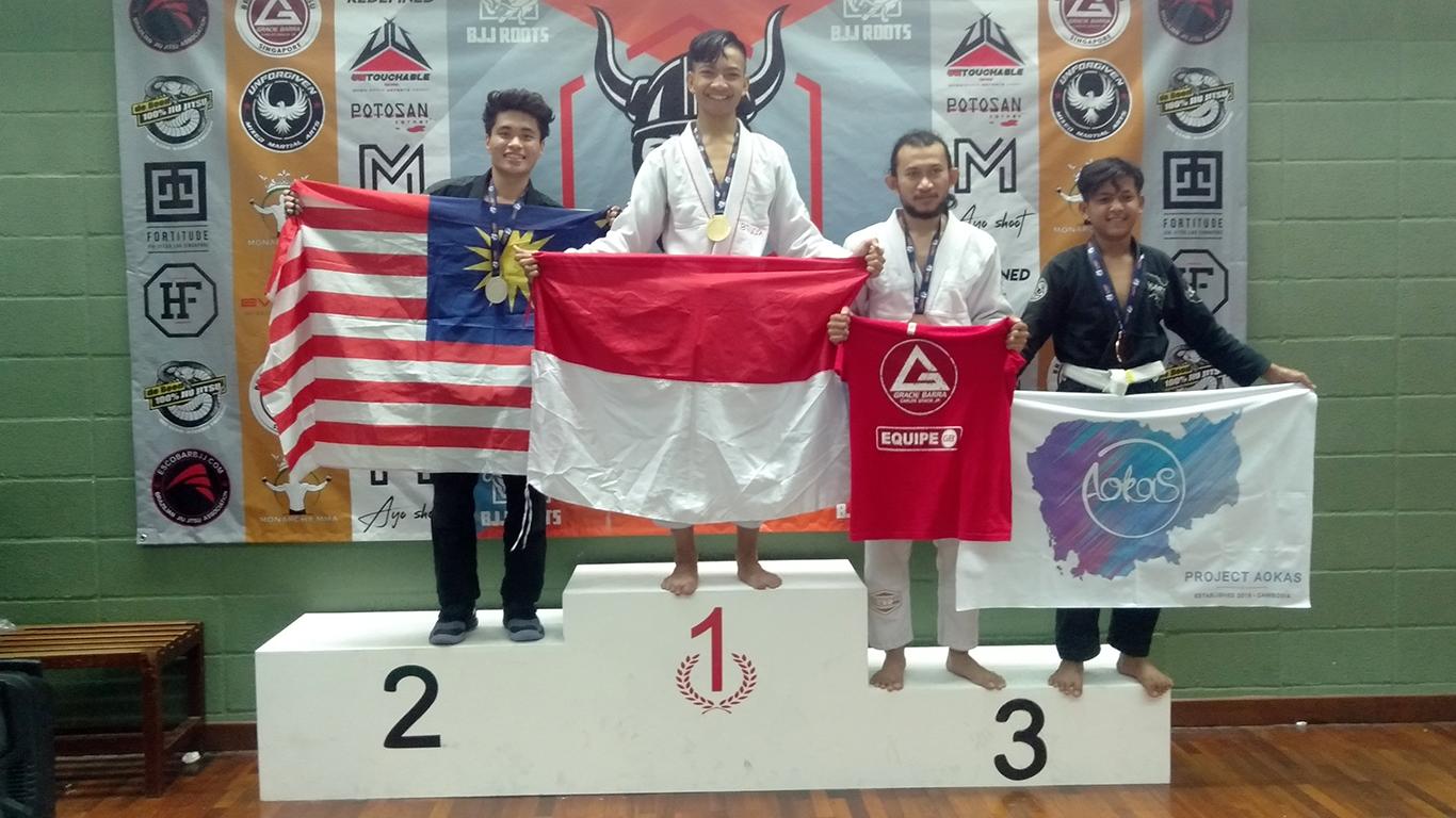 Jadi Peserta Termuda Deva Bagus Juarai Jujitsu Dunia di Malaysia