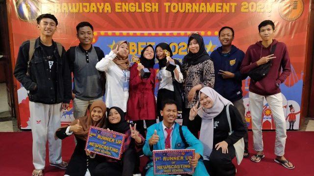 Bersama Alumni di Newscast Brawijaya English Tournament 2020